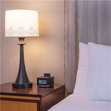 Executive King with iHome Charging Station