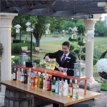 Outdoor Bar at the Hilton Wilmington Christiana