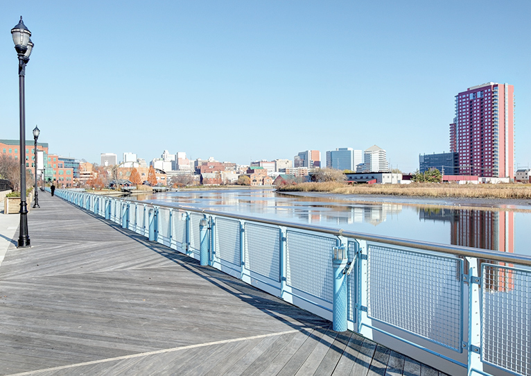Wilmington Riverfront at Delaware
