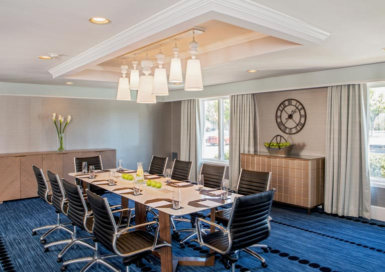 Executive Boardroom at Hilton Christiana Newark, Delaware