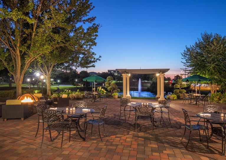 The Patio at Hilton Christiana Newark, Delaware